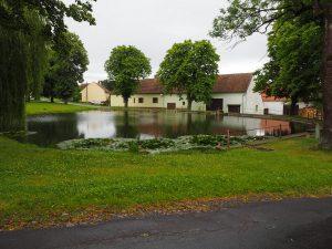 rybník na návsi