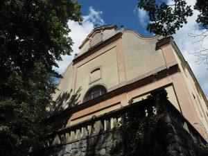 kostel Nejsvětější Trojice Lnáře