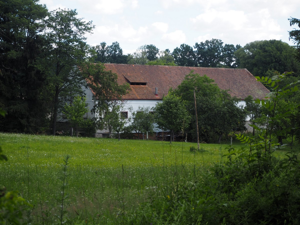 mlýn v Plácku