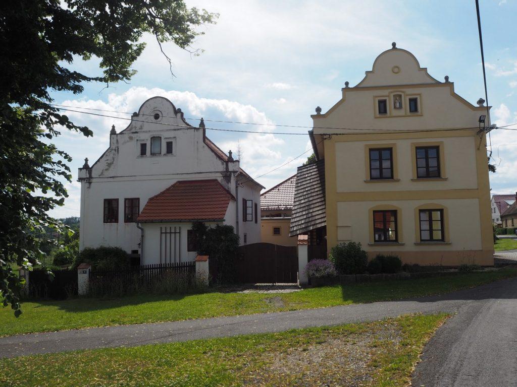 domy v Olšanech