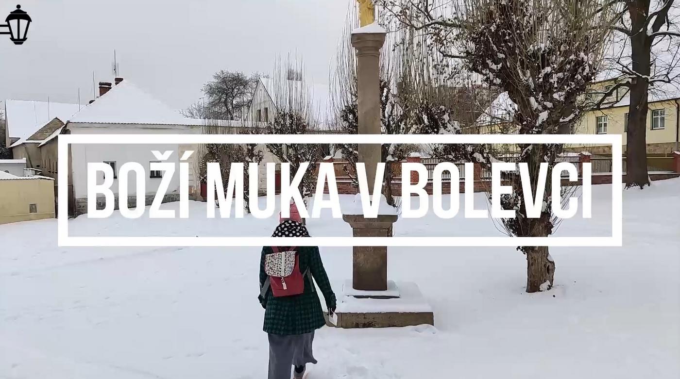 Plzeň známá neznámá: Boží muka v Bolevci