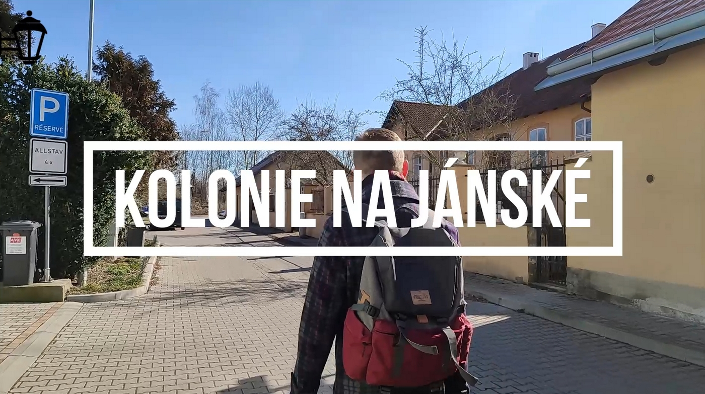 Plzeň známá neznámá Kolonie Na Jánské