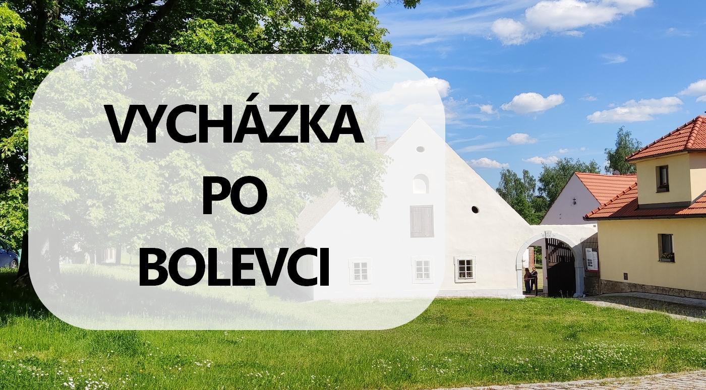 Registrace na vycházku po Bolevci