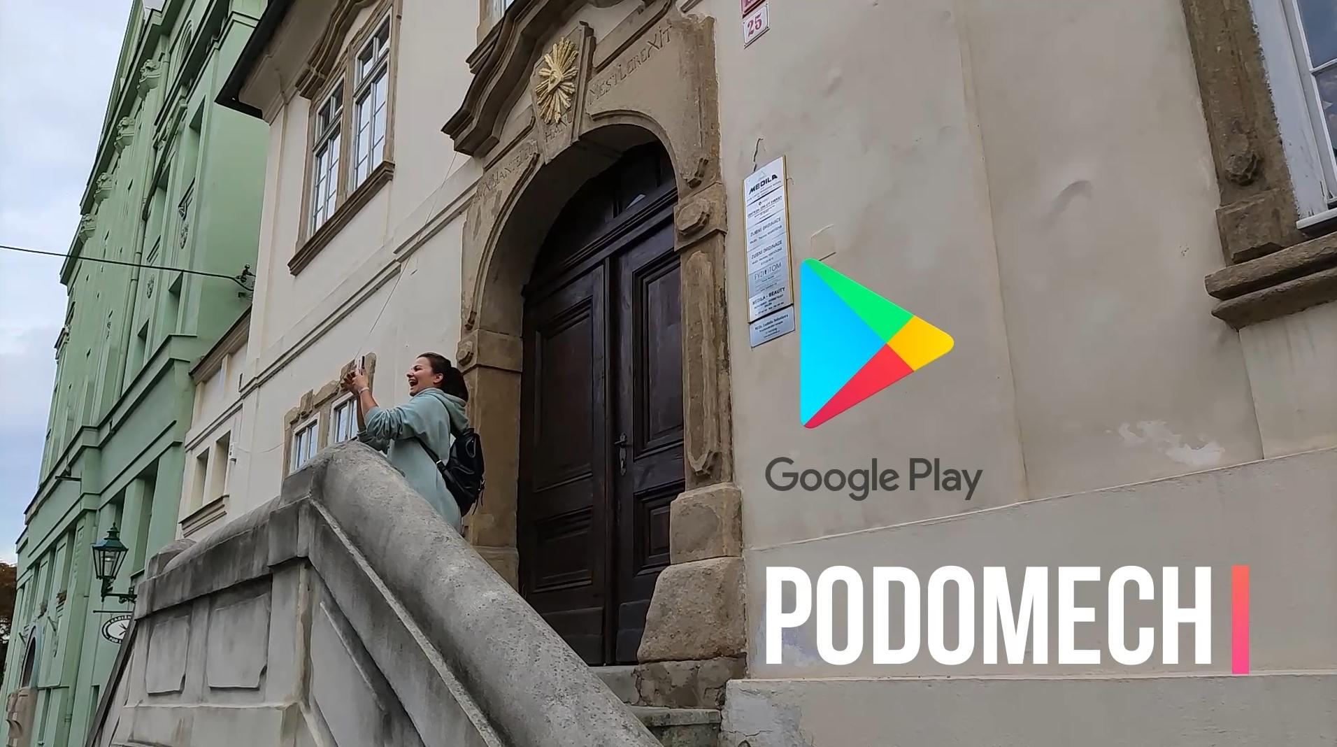 Aplikace Podomech